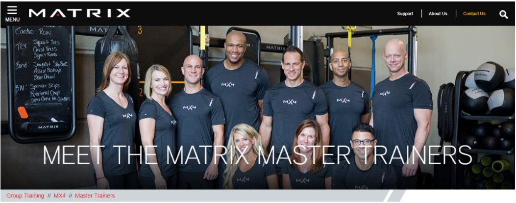 Matrix Master Trainer Introduction