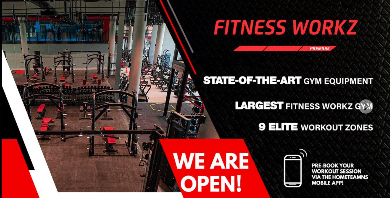 Another Mega Gym is Born- HomeTeamNS Khatib